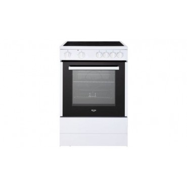 Bush B60SCWX 60cm Single Oven Electric Cooker - White